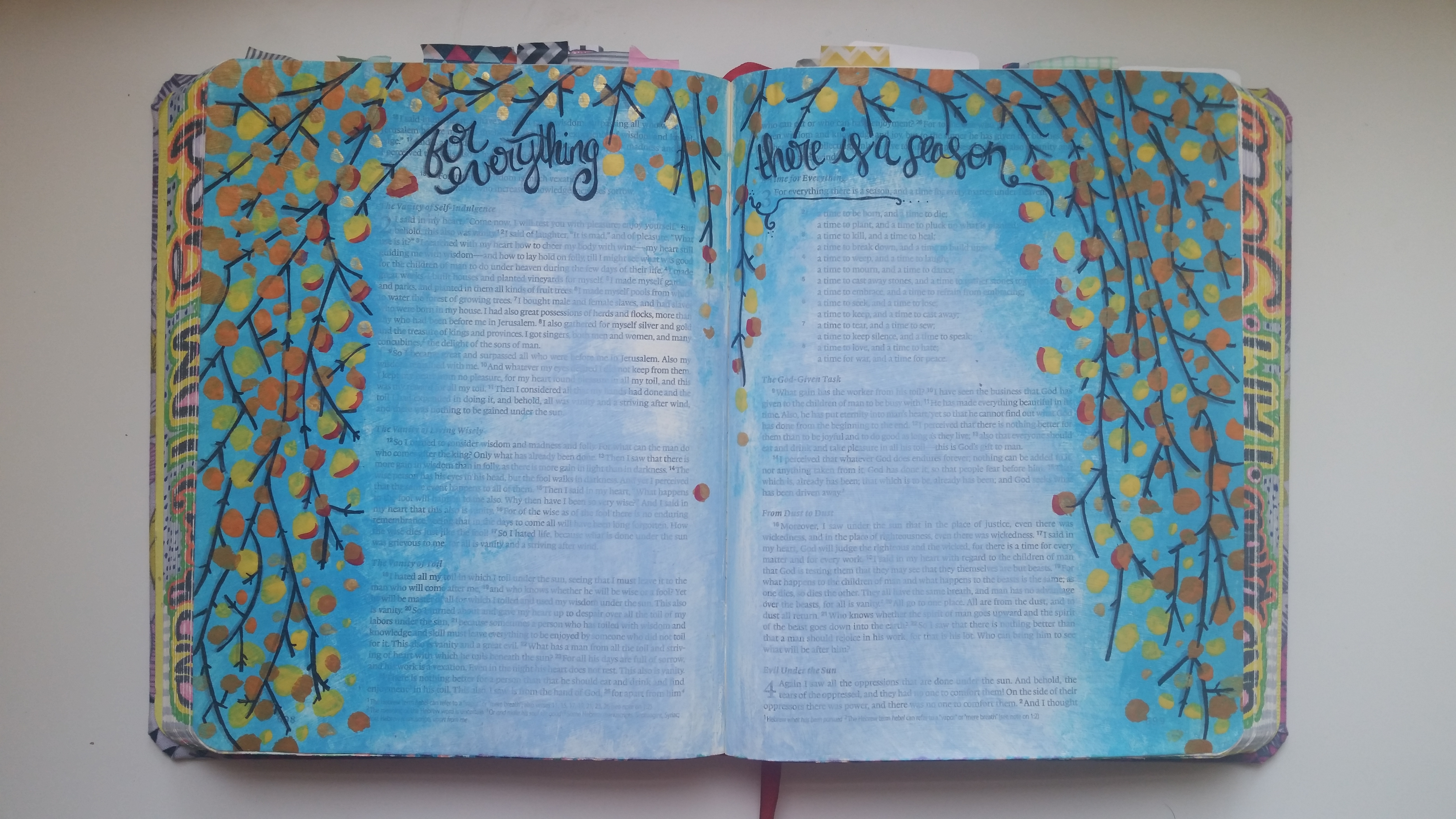 Bible journaling archives creating a great day ecclesiastes 31 8 esv fandeluxe Images