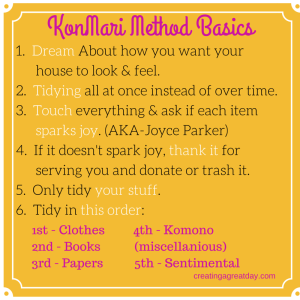 KonMari Method Basics (2)