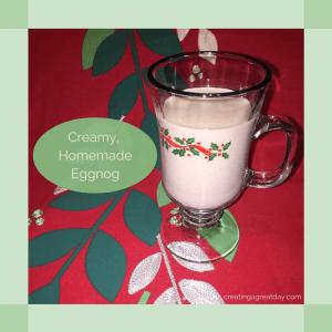Creamy HomemadeEggnog