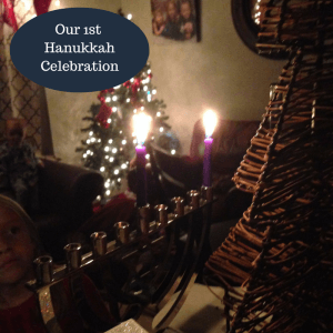Our 1st HanukkahCelebration