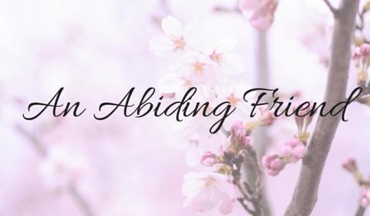 An Abiding Friend