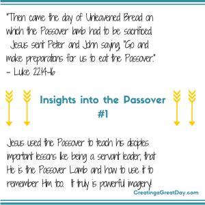 Insights into the Passover #1 (1)