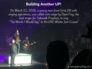 Sidewalk Prophets - Building Another UP!