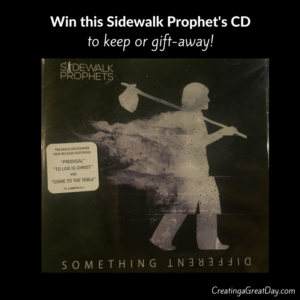 Win this Sidewalk Prophet's CD