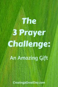 The 3 Prayer Challenge pinterest