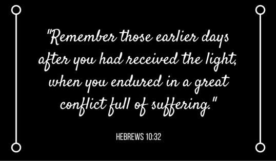 WE DON'T SHRINK_ HEBREWS 10_32 VERSE