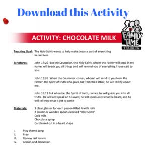 Download this Chocolate Milk Activity