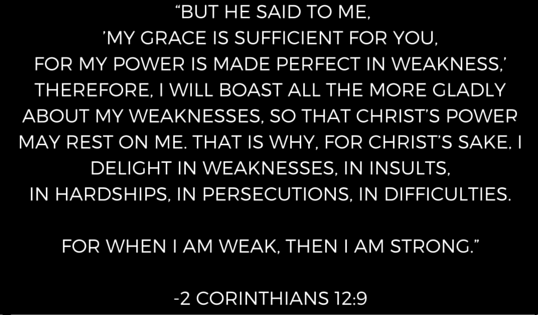 Independence_ Strength or Weakness? Scripture... 2 Corinthians 12_9