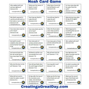 Noah Card Game