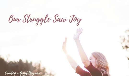 My Struggle Saw Joy: Talking About God