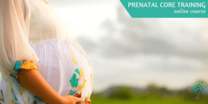 Prenatal Core Training - post