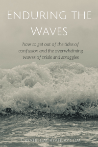 Enduring the Waves Pinterest