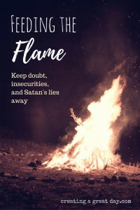 Feeding the flame pinterest