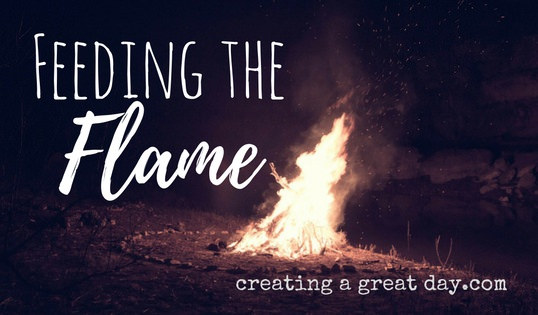Feeding the Flame: Is Your Faith a Blaze or a Flicker?