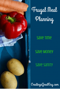 Hanging onto Dollars Frugal Meal Planning Pinterest