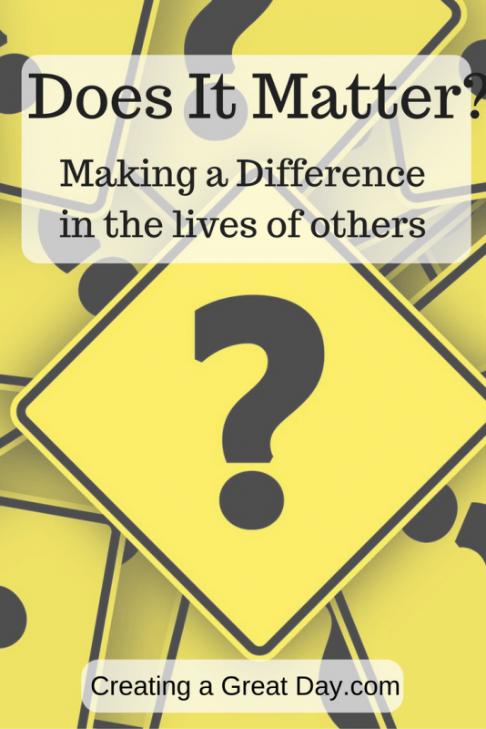 making differences matter Request pdf on researchgate | does core task matter for decision-making a comparative case study on whether differences in job characteristics affect discretionary street-level decision-making | this article sets out to test the hypothesis that differences in fundamental job characteristics (service vs regulation) affect.