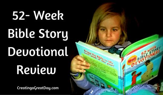 52-Week Bible Story Devotional Review