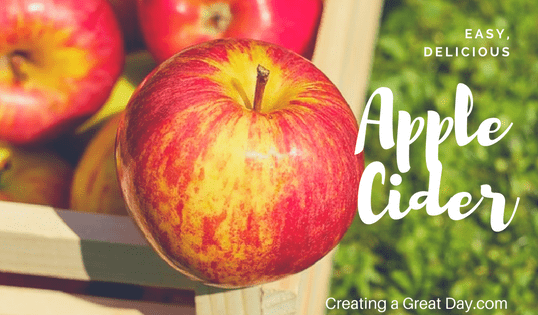 Quick and Easy Apple Cider, Three Ways!