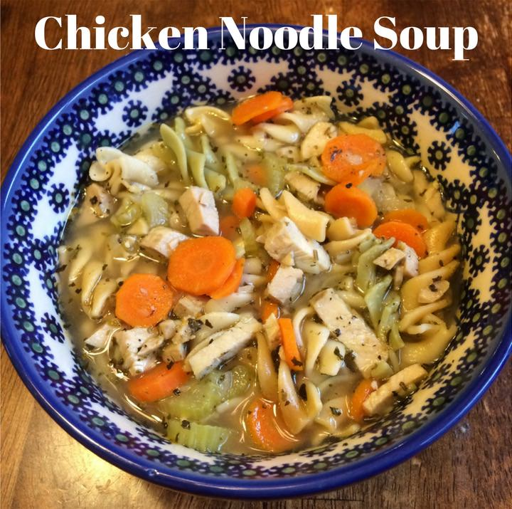 Lemon Thyme Chicken Noodle Soup