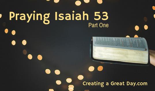 Praying Isaiah