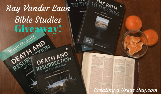 So That the World May Know – Ray Vander Laan Bible Study Giveaway