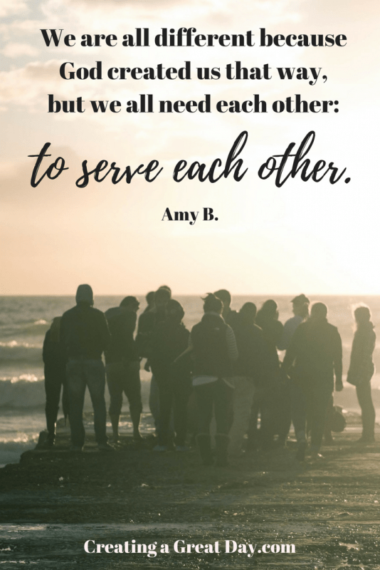 we-are-all-different-because-god-created-us-that-way-but-we-all-need-each-other-to-serve-each-other-pinterest