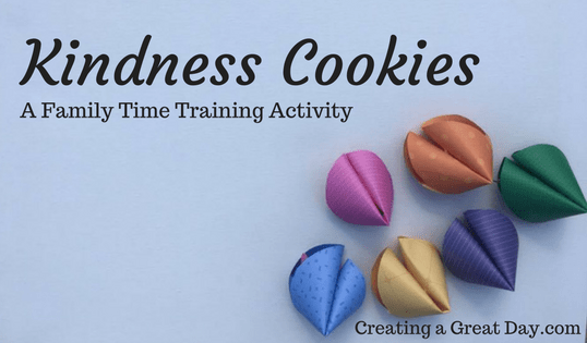 Kindness Cookies Activity
