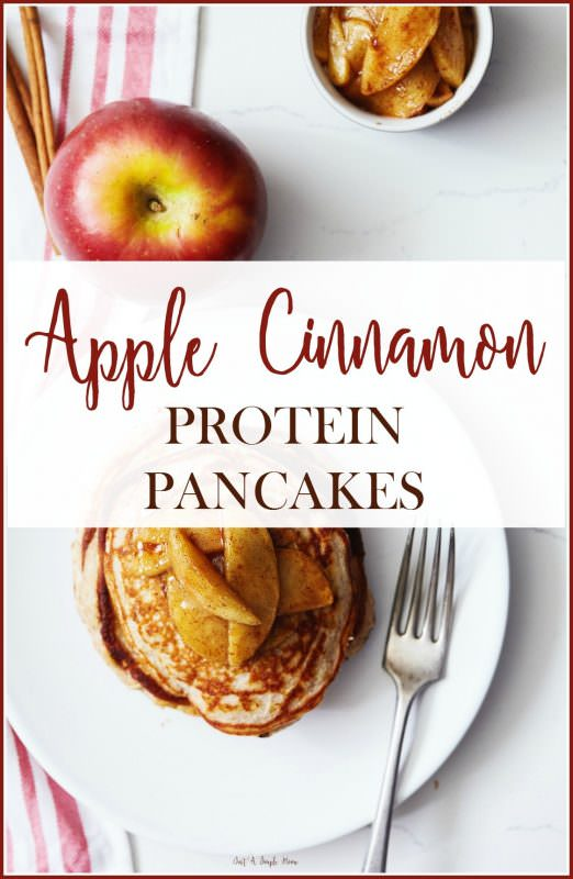 apple-cinnamon-protein-pancakes