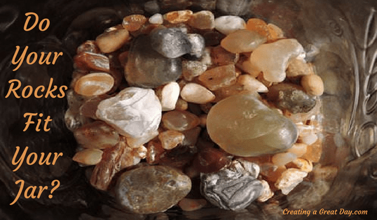 Do Your Rocks Fit Your Jar?