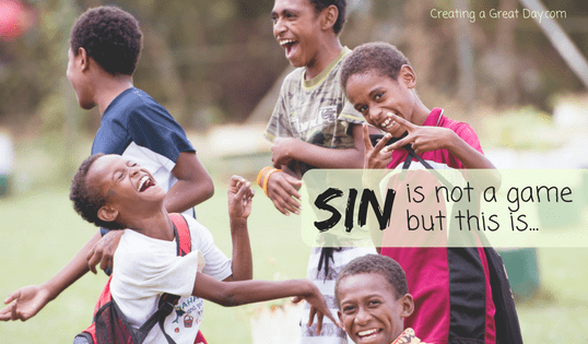 Teaching Kids About Sin