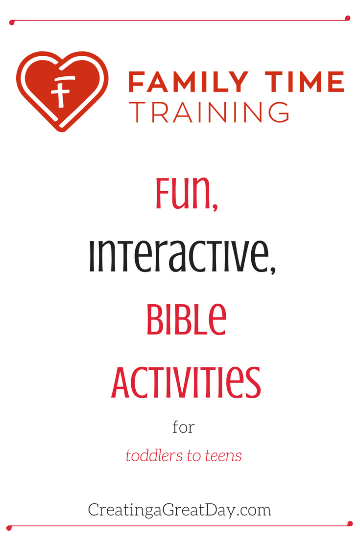 Family Time Training logo pinterest