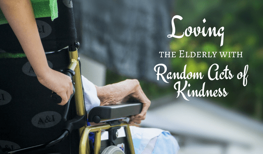 Random Acts of Kindness Elderly
