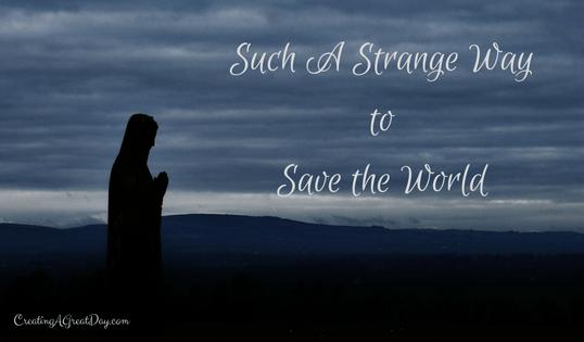 Strange Way to Save the World – Michael Crawford